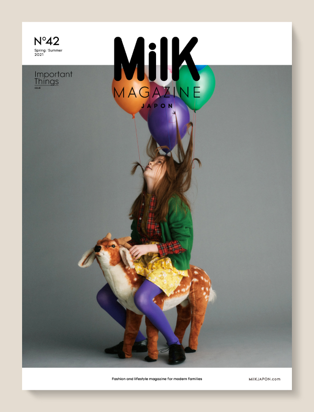 「MilK MAGAZINE JAPON」no.42が発売!