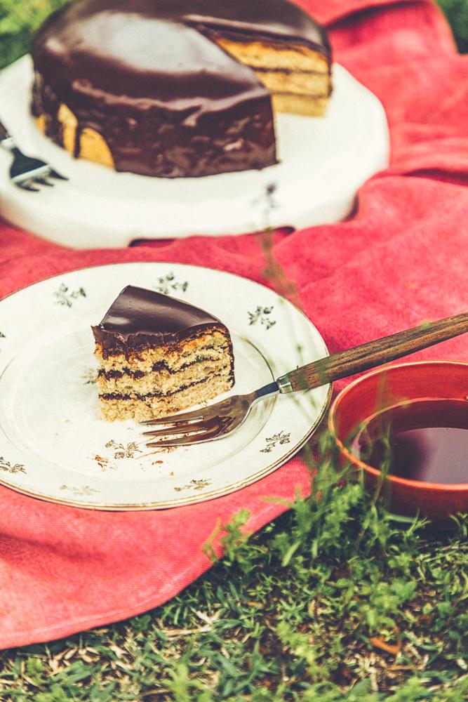 おいしいおはなし 第41回『魔法使いのチョコレート・ケーキ』のチョコレート・ケーキ