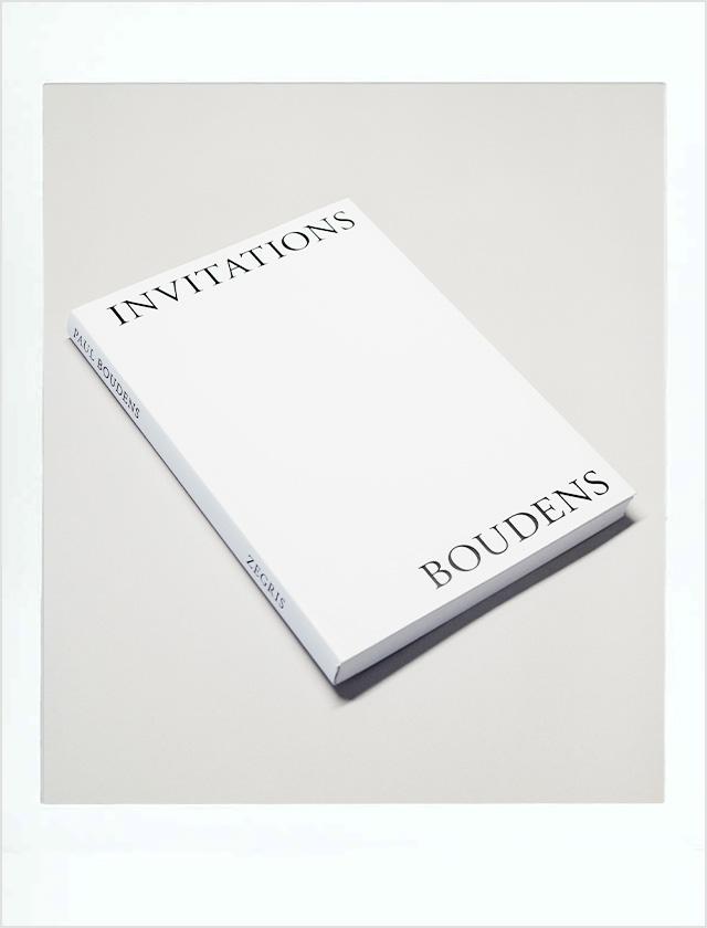 ポール・ボウデンスの作品集『INVITATIONS』