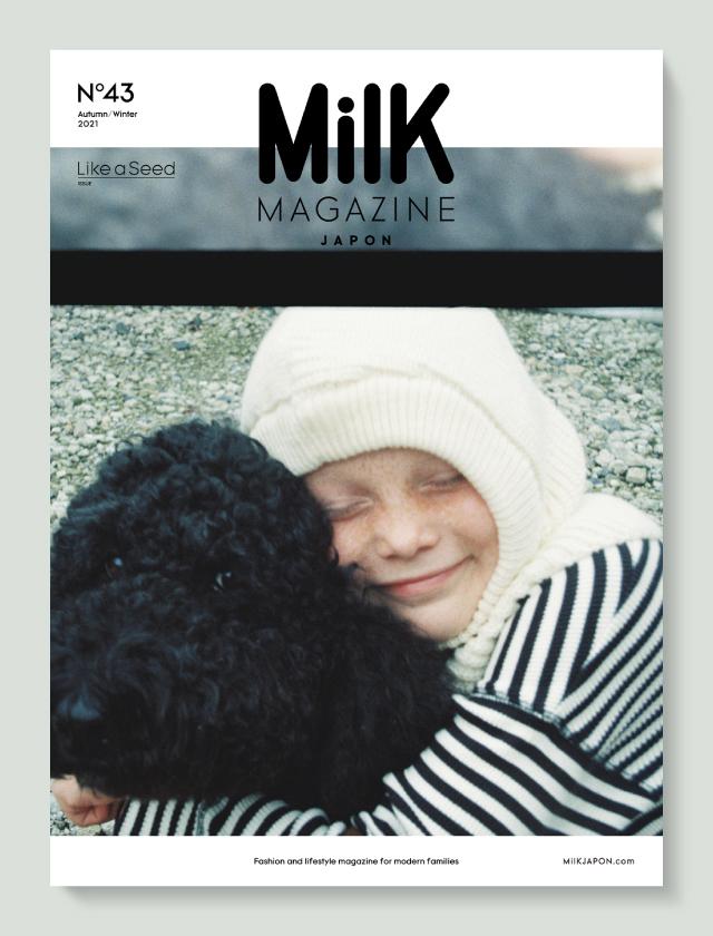 10月11日、雑誌「MilK MAGAZINE JAPON」no.43が発売!